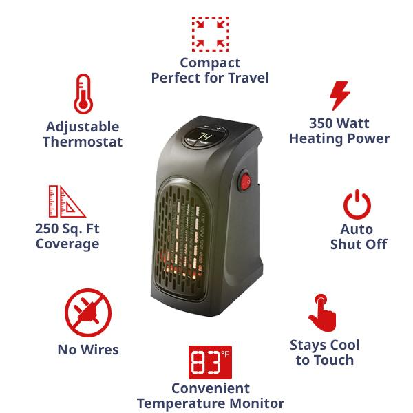 electric wall heater - Horizoncare.in