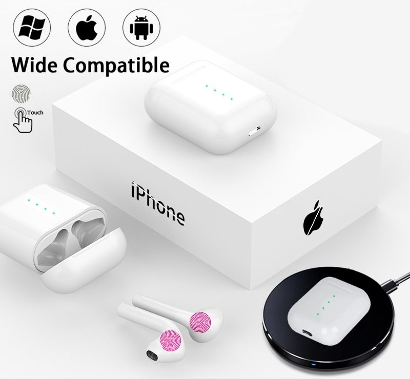 Air Wireless Bluetooth Earphones Pods Earbuds With Touch Controls For Apple Iphone Pricedrop Store